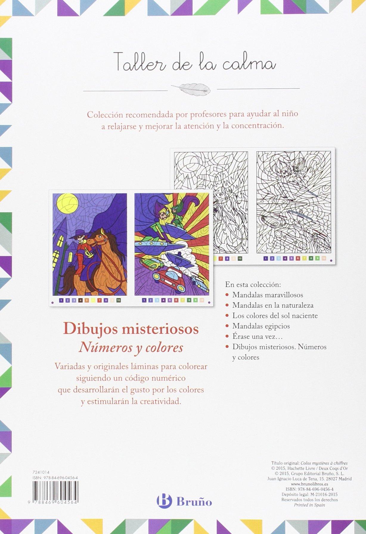Taller De La Calma Dibujos Misteriosos Numeros Y Colores