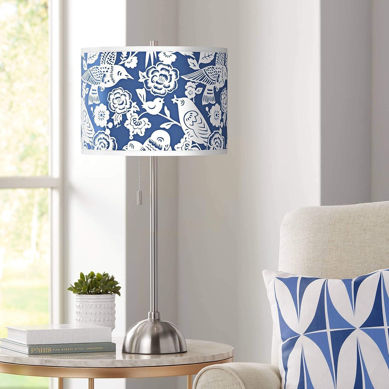 Amazon.com: Lámpara de mesa de acero cepillado de Thomaspaul ...