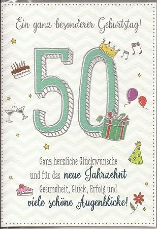 50 Geburtstag Glückwünsche Deknappekikker