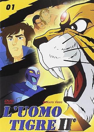 Luomo tigre ii volume 01 episodi 01 03: amazon.it: haruya yamakazi