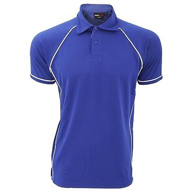 085c8e267289 Finden   Hales Herren Sport Polo-Shirt, Kurzarm (3XL) (Königsblau