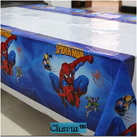 Amazoncom Spiderman Set of 2 Tablecloths Plastic 42 X 70 Kids