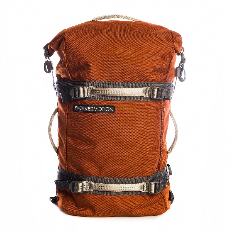 Evolved Motion EmPack Military Grade 1000D Cordura Durable Nylon Webbing Reinforced (Orange)