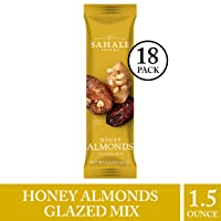 Deals on 18-Pack Sahale Snacks Honey Almonds 1.5 oz.