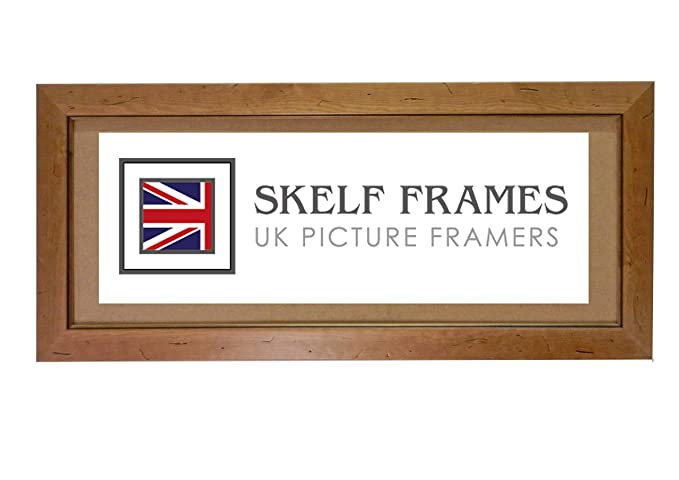 7db6128d570 16x8 PANORAMIC PICTURE PHOTO POSTER WOOD FRAME (Antique Pine Distressed  Wood)  Amazon.co.uk  Kitchen   Home