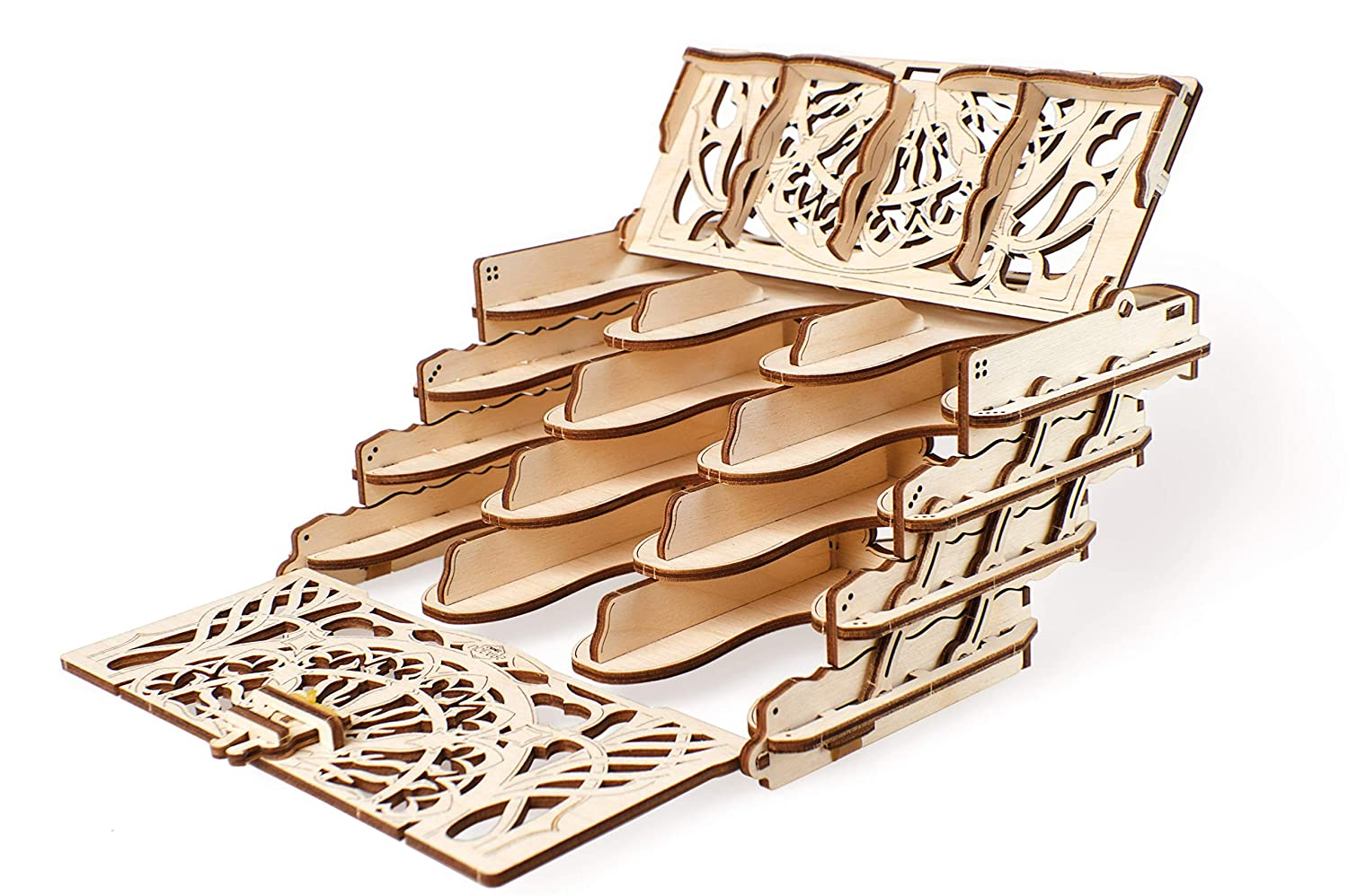 Ugears Wooden Card Holder For Board Games Diy Best Playing