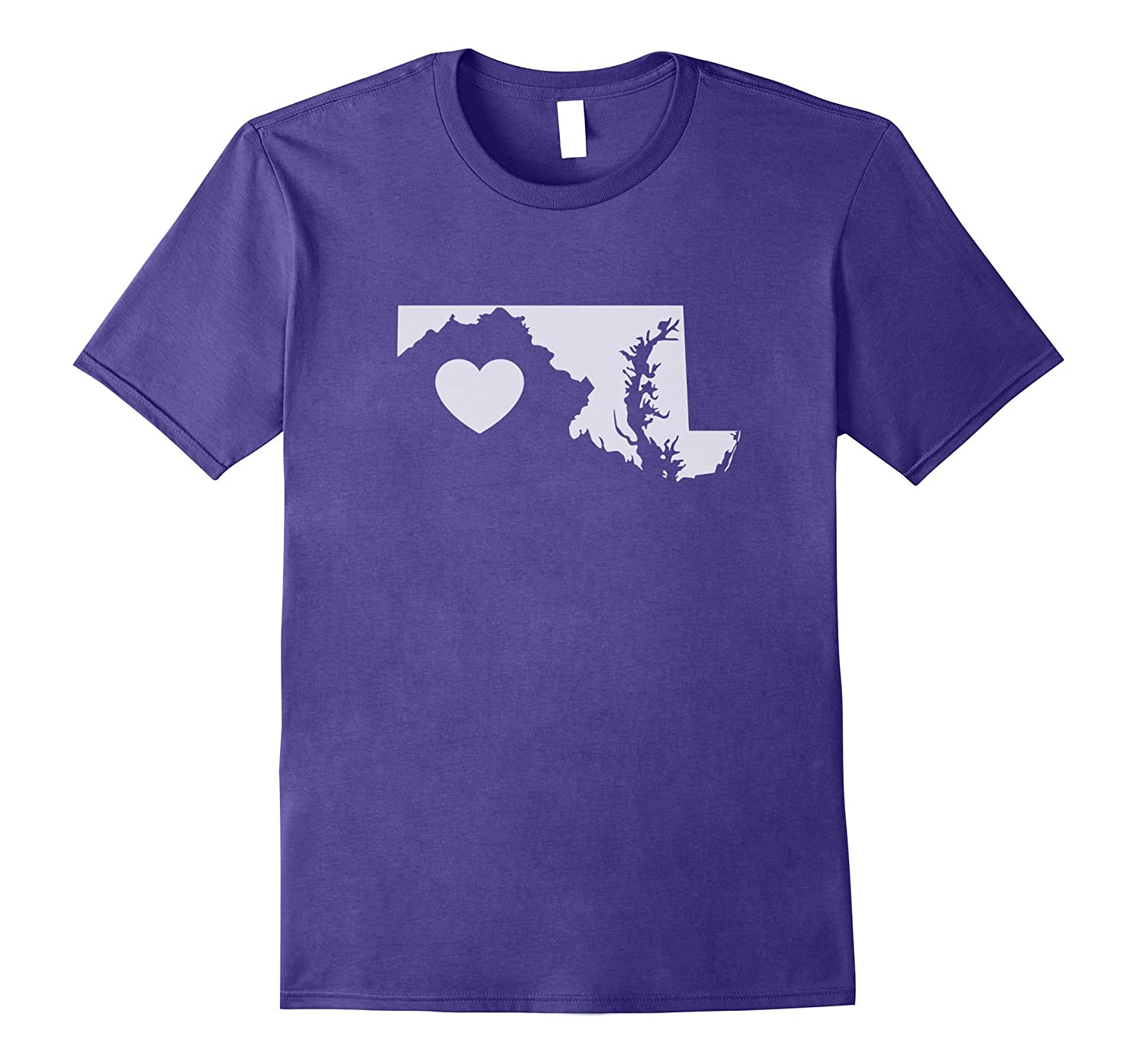 The Official Maryland Love Heart T-Shirt-Vaci