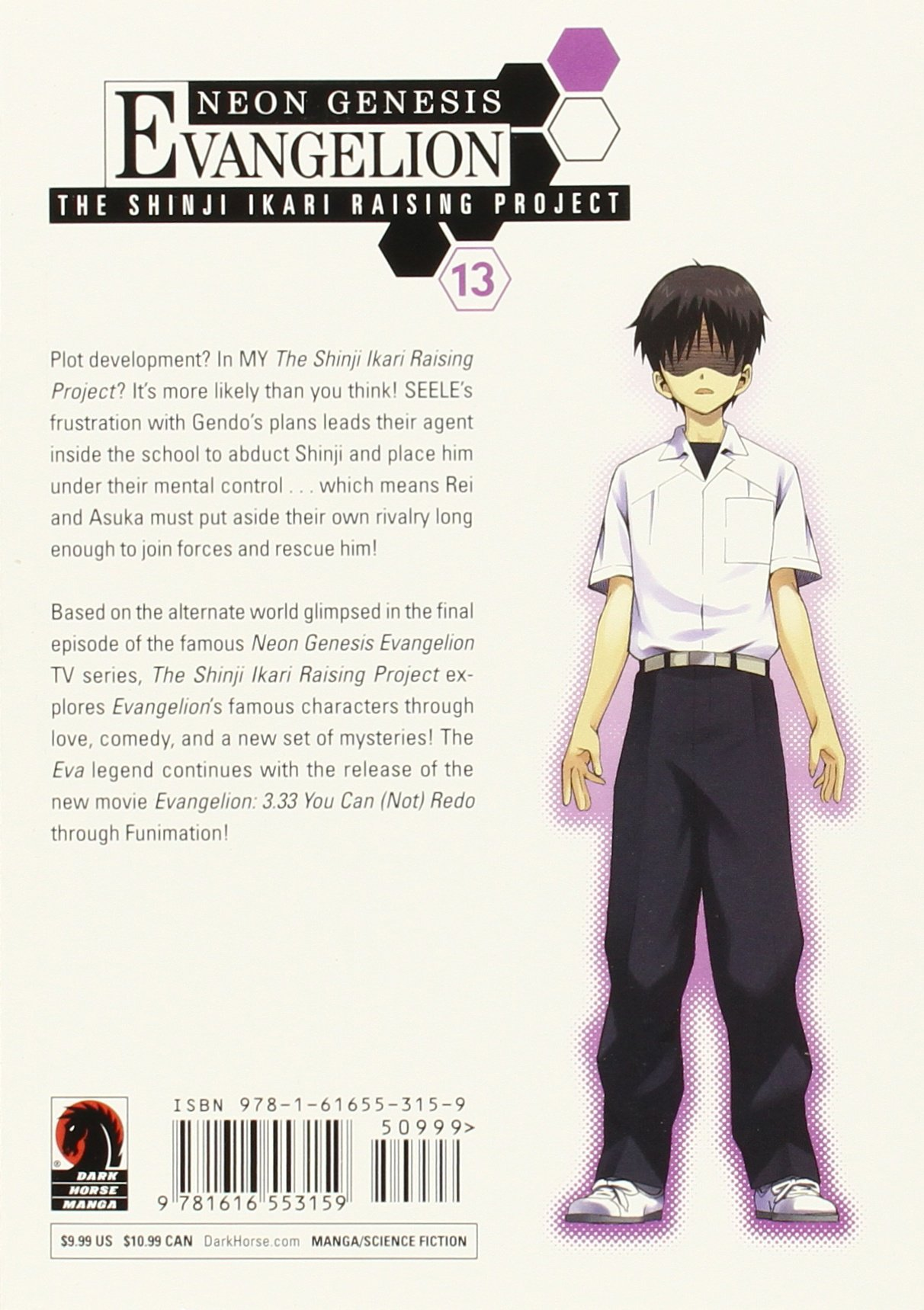 Amazon.com: Neon Genesis Evangelion: The Shinji Ikari Raising Project, Vol.  13 (9781616553159): Osamu Takahashi, Carl Gustav Horn: Books