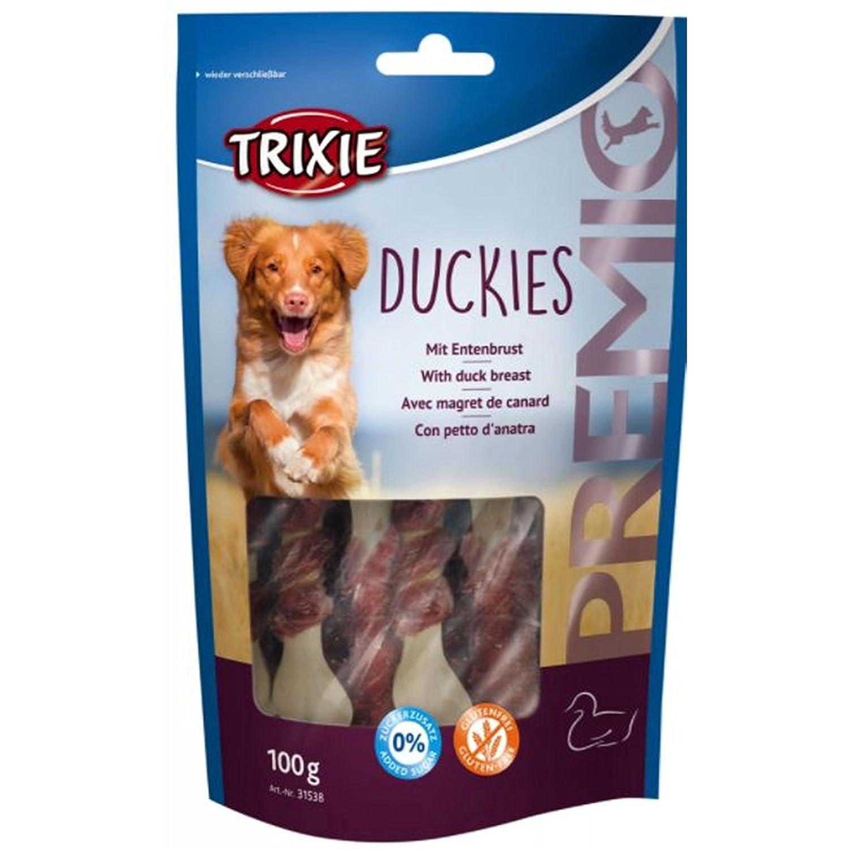 Trixie PREMIO Duckies ossi con petto d'anatra per cani 100gr 4011905315386