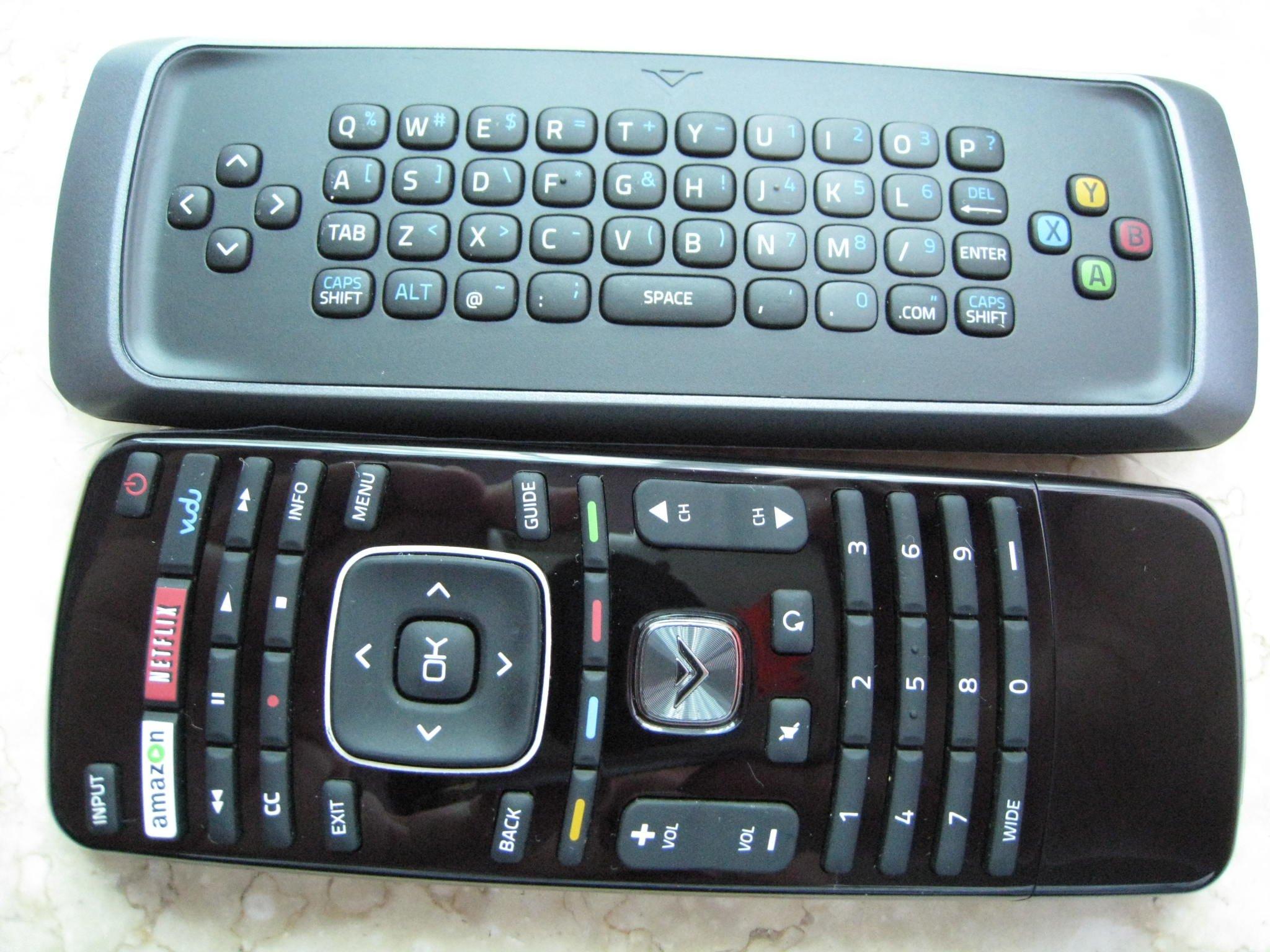 Control Remoto Beyution QWERTY Dual Side Keyboard Interne...