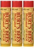 Burt's Bees Burt's Lip Care Medicated Lip Balm with Clove Oil 0.15 oz. tube Lip Balms (Pack of 3)