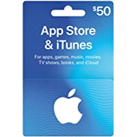 Deals on $50 App Store & iTunes Gift Cards Email Delivery