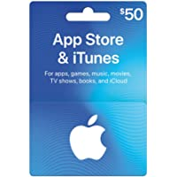 $50 App Store & iTunes Gift Cards - Design May Vary
