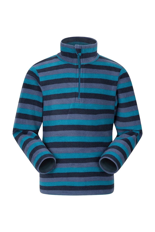 Mountain Warehouse Pursuit Kids Fleece - Breathable Childrens Jacket