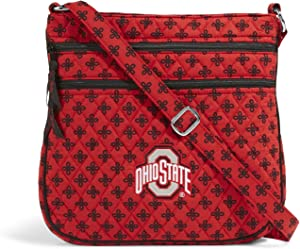 NCAA Ohio State Buckeyes Women's Triple Zip Hipster, Red/Black, One Size