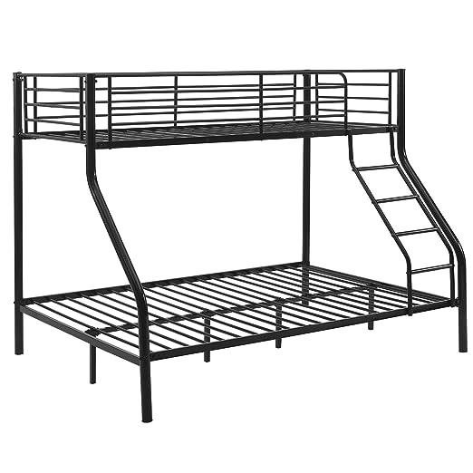 neu.haus Litera de metal Para 3 personas 210cm x 147,5cm x 168cm Somier Negro: Amazon.es: Hogar