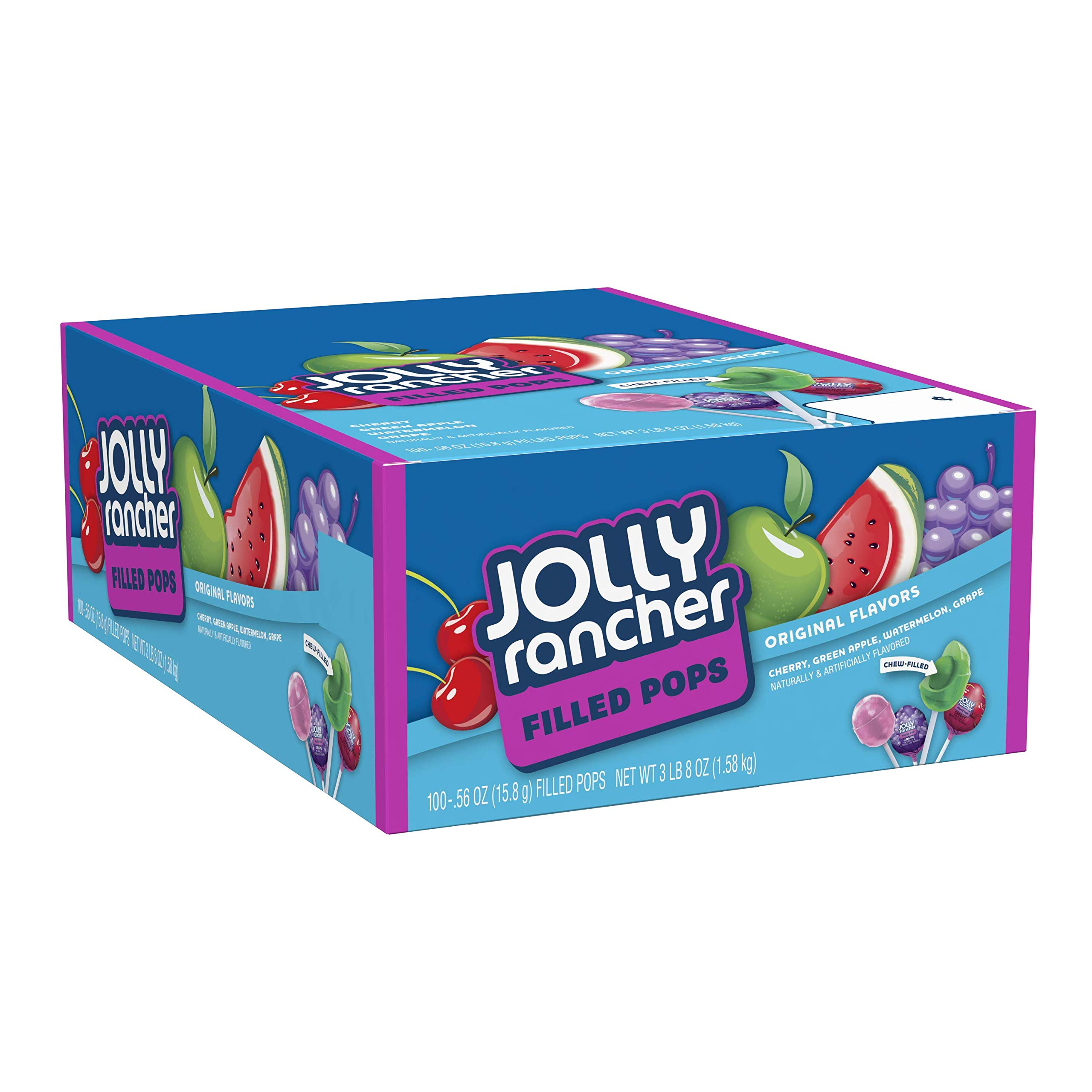 JOLLY RANCHER Filled Candy Lollipops, Assorted Flavors, 100 Count by Jolly Rancher (Image #7)