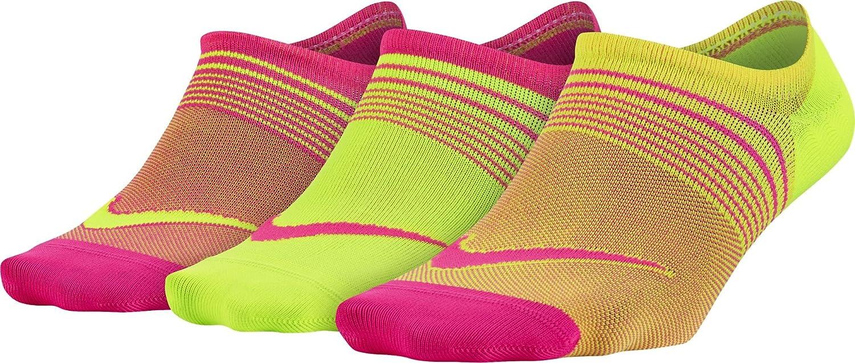 Nike Lightweight Training Socks, Calcetines para Mujer, Pack de 3 Unidades, Rojo, L (42-46 EU): Amazon.es: Deportes y aire libre