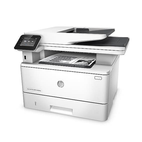 HP LaserJet Pro MFP M426dw - Impresora láser monocromo (A4, hasta 38 ppm, 750 a 4000 páginas al mes, USB 2.0 alta velocidad, Red Gigabit Ethernet ...