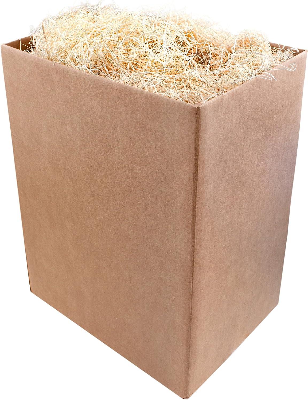 Super Moss (15900) Aspen Wood Excelsior Box Bulk, 5lb, Natural
