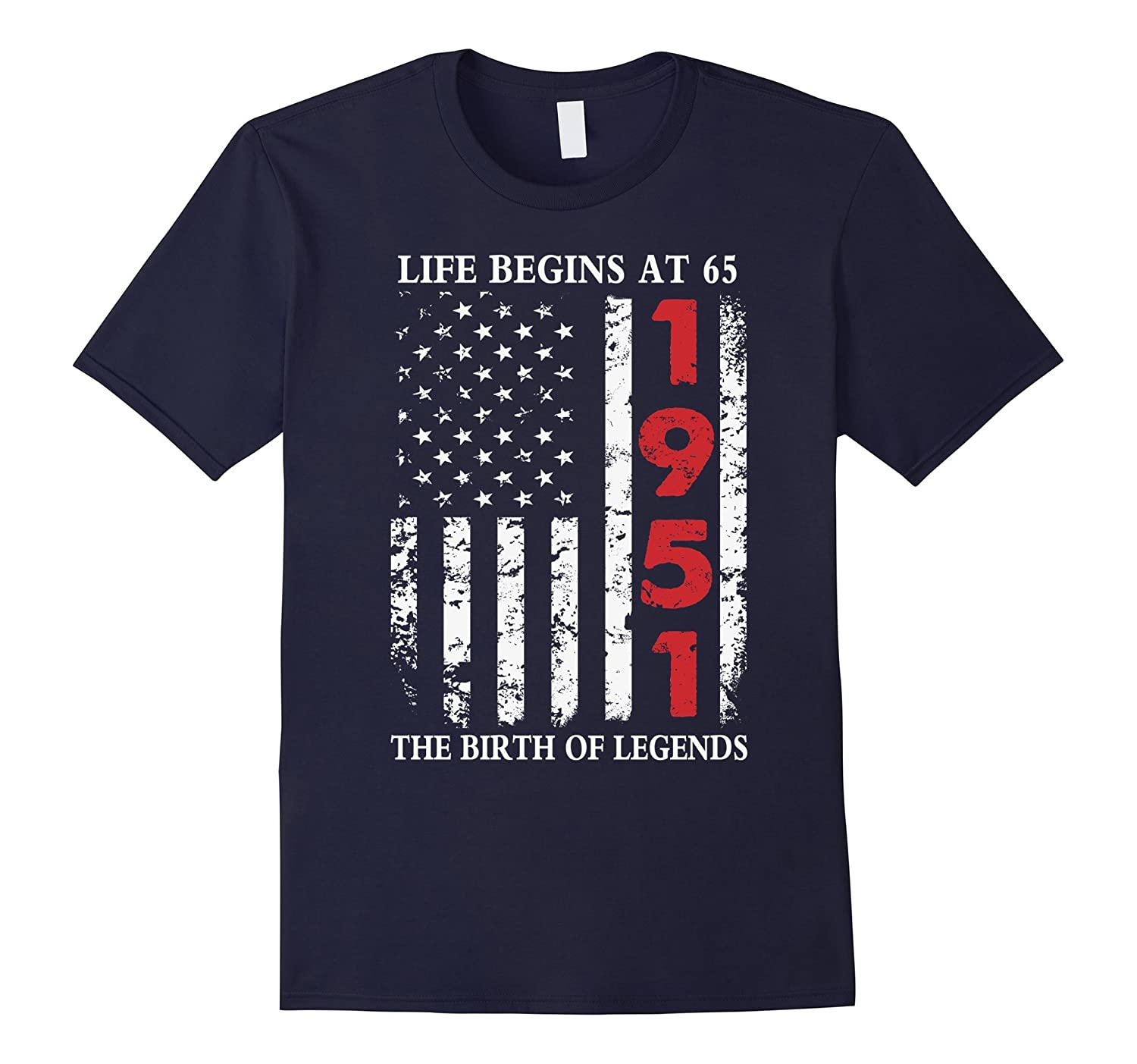1951 The Birth Of Legends American Flag T-Shirt-Art