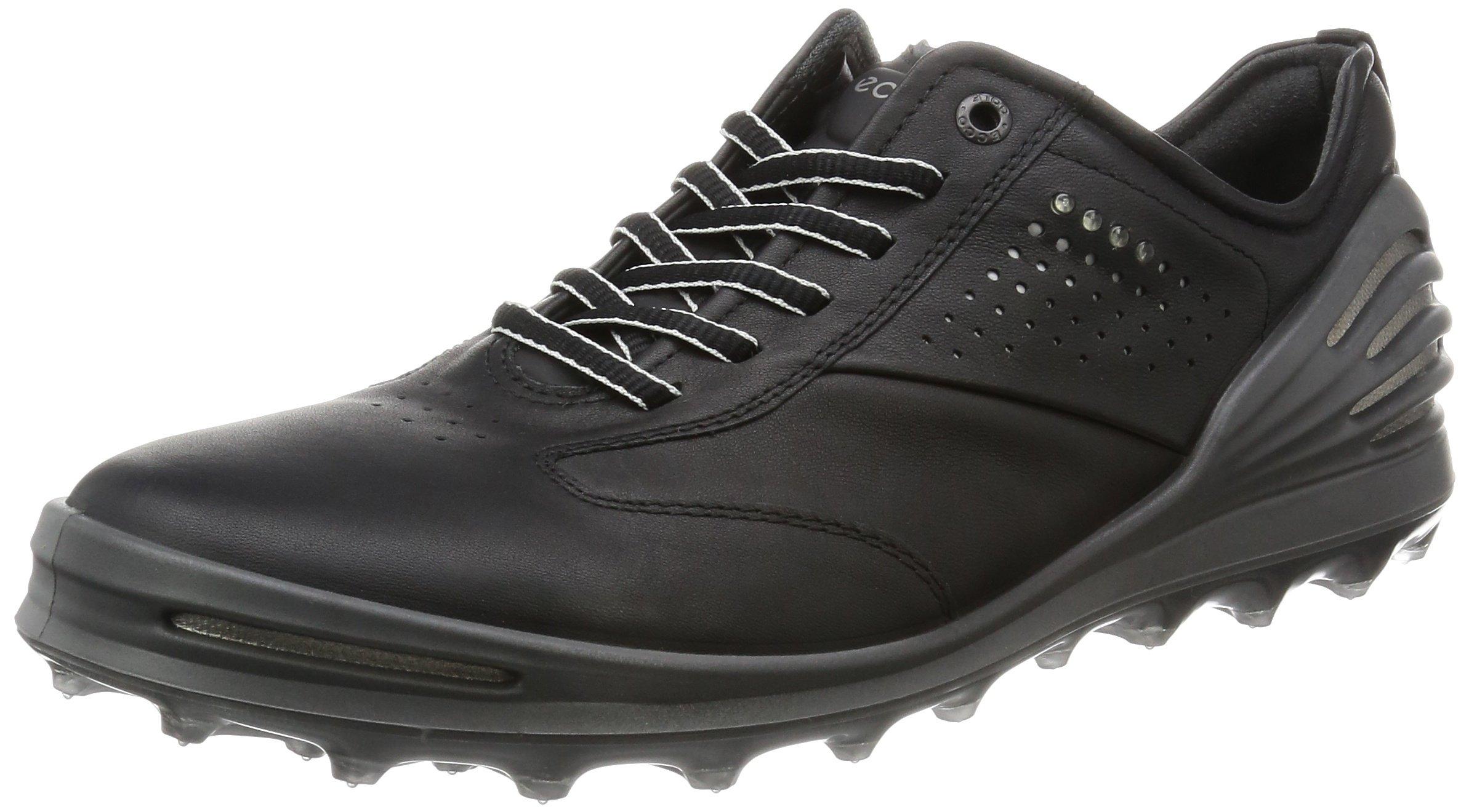 ECCO Men's CAGE PRO Golf Shoe, Black, 39 EU/5-5.5 M US