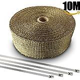 homedox bande thermique echappement 10m ruban isolant thermique c ramique 10m auto. Black Bedroom Furniture Sets. Home Design Ideas