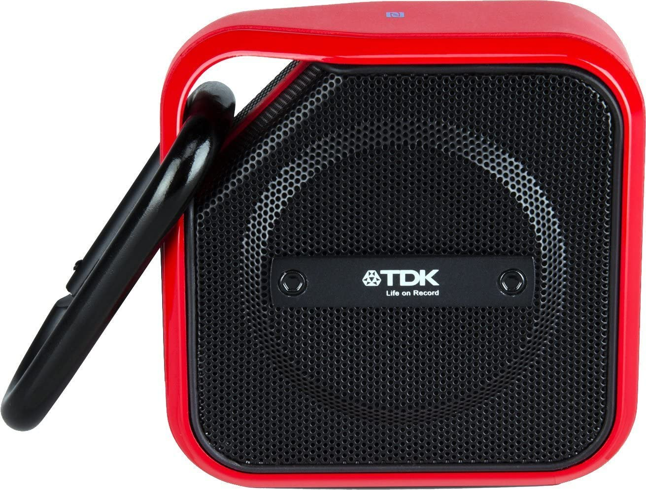 TDK Life On Record Micro A12 Wireless Bluetooth Speaker, Red