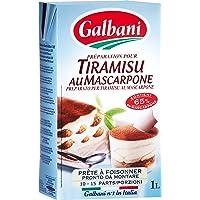 Galbani Base y maas para tarta (Tiramisu) - 1000 ml