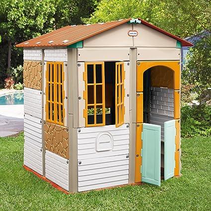 little tikes Build-a-House - Juego de Juegos: Amazon.es: Juguetes y juegos