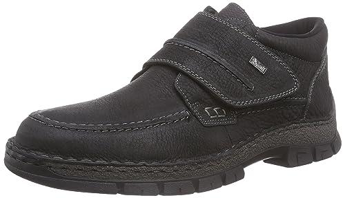 05390-00 05390-00 - Botas de cuero para hombre, color negro, talla 40 Rieker