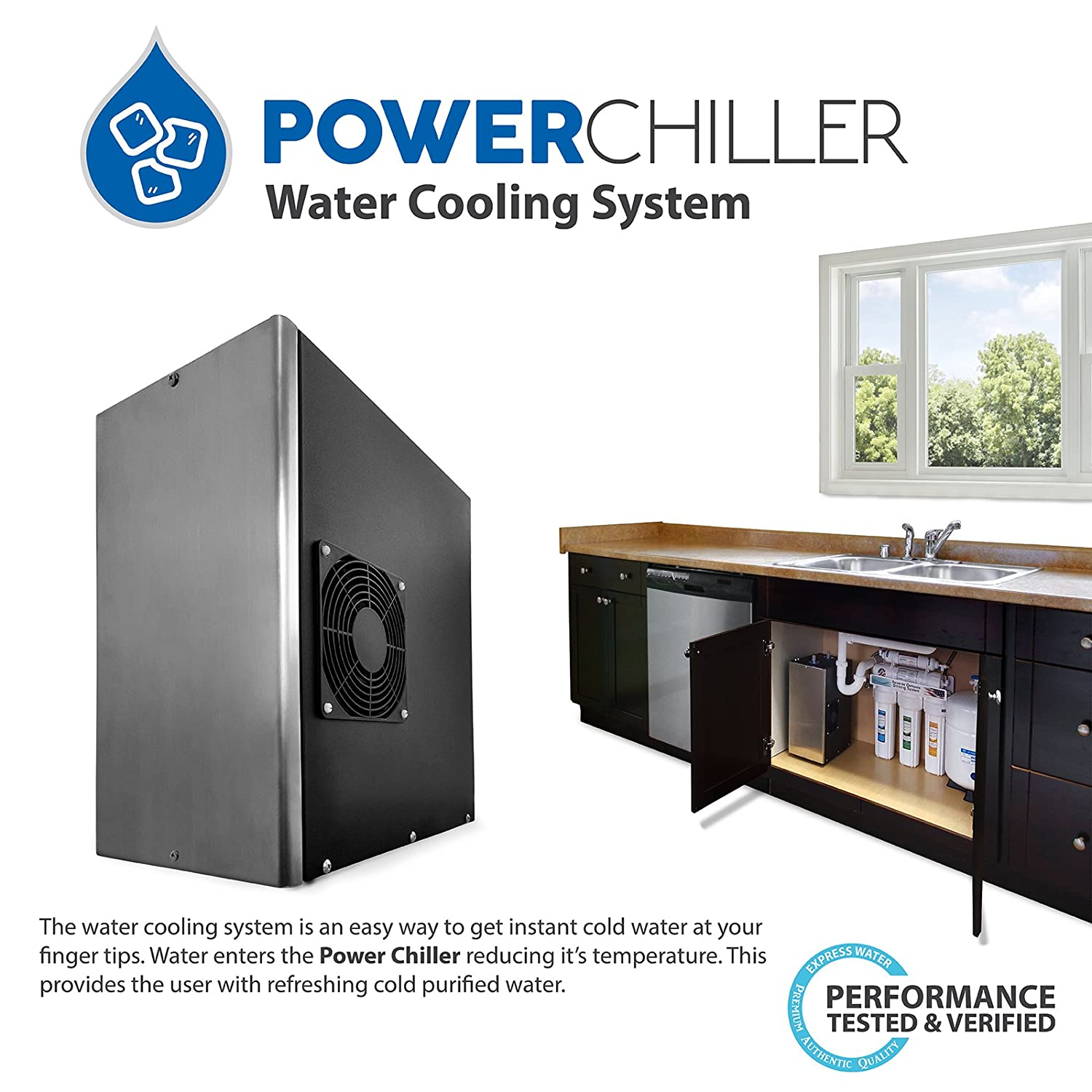Express Water Residential Undersink Water Chiller Cooling System