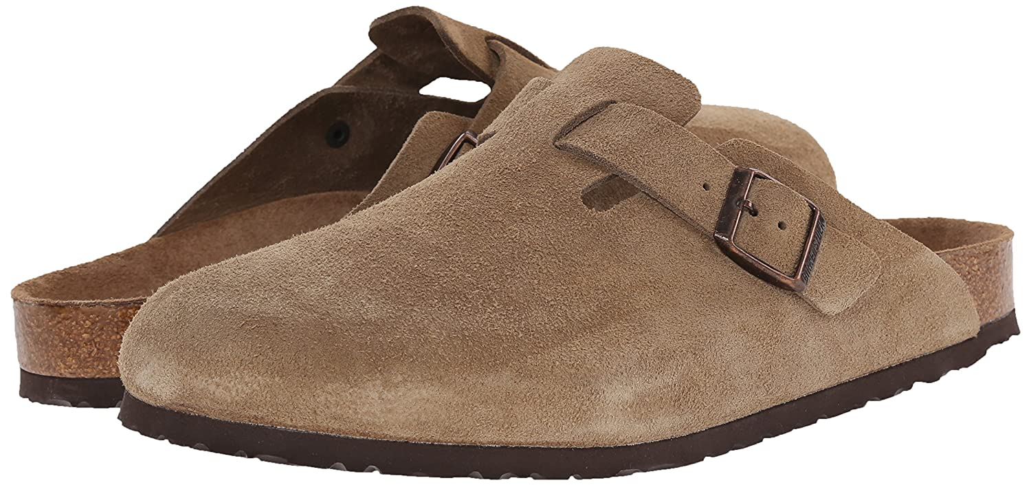 Unisex Boston Soft Footbed Taupe Suede 44 N EU