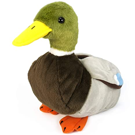 Amazon Com Viahart Dakota The Duck 1 Foot Large Stuffed Animal