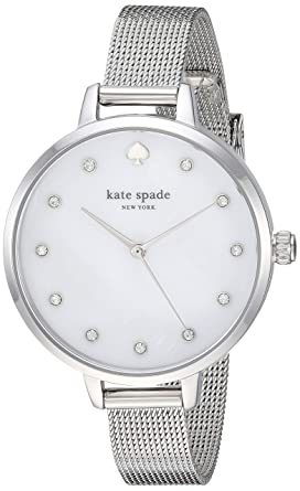 61568b83389 kate spade new york Women s Metro Quartz Watch with Stainless-Steel Strap
