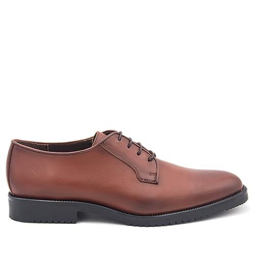 es Piel Amazon Hombre Castellanisimos Cuero De Zapatos Blucher En OvO4pR8n