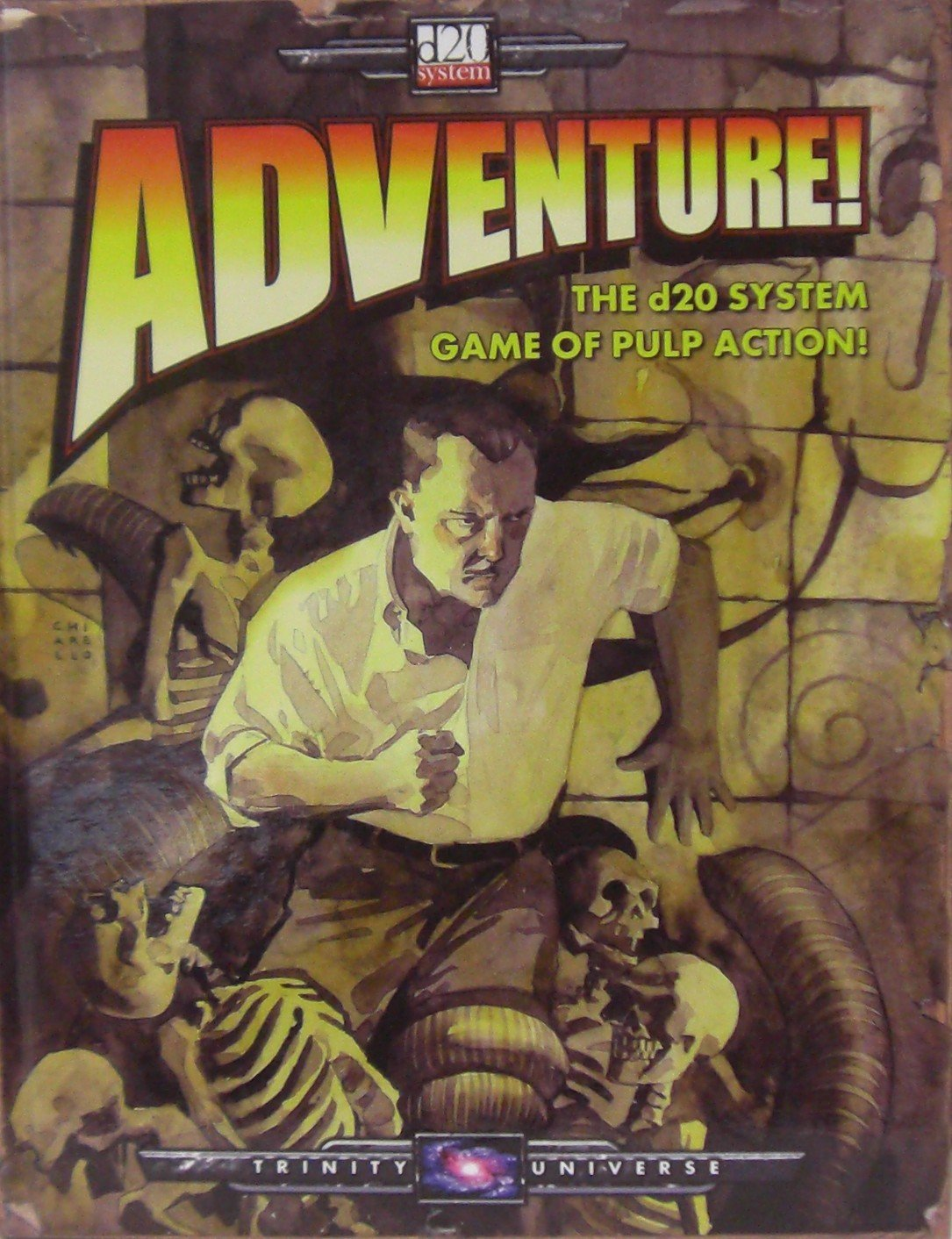 Adventure! (Part One of the Trinity Universe, d20 v. 3.5) pdf epub