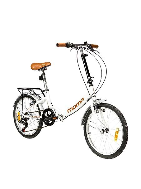 Moma Bikes Bicicleta First Class Blanco Única: Amazon.es: Deportes y aire libre