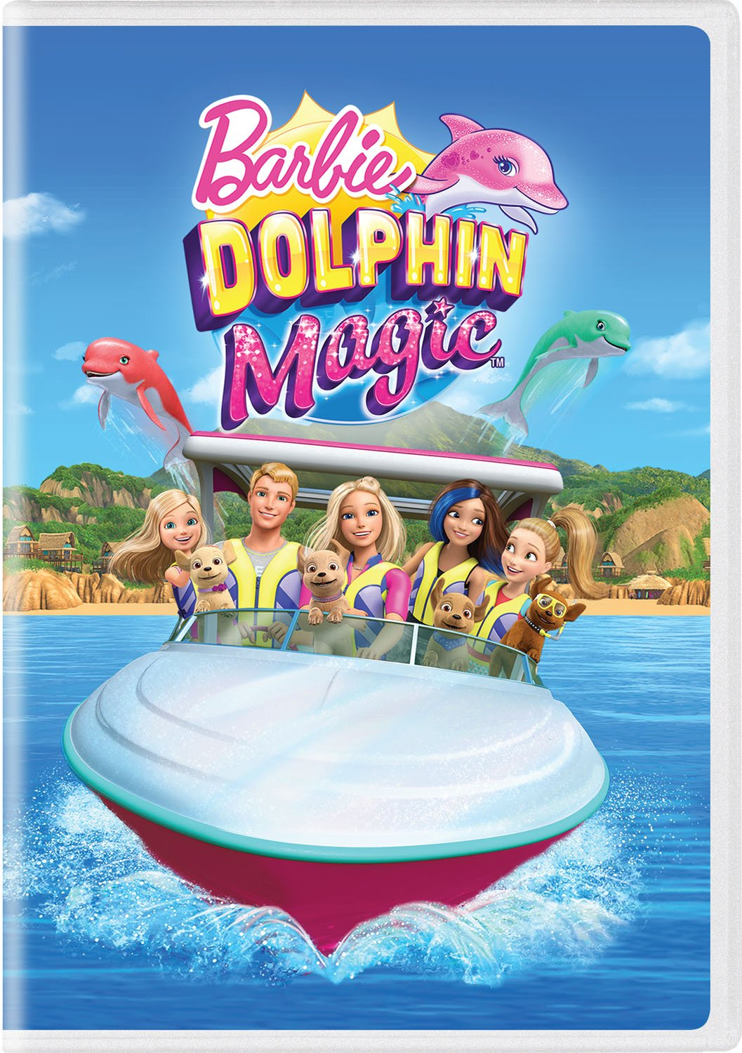DVD : Barbie: Dolphin Magic (DVD)