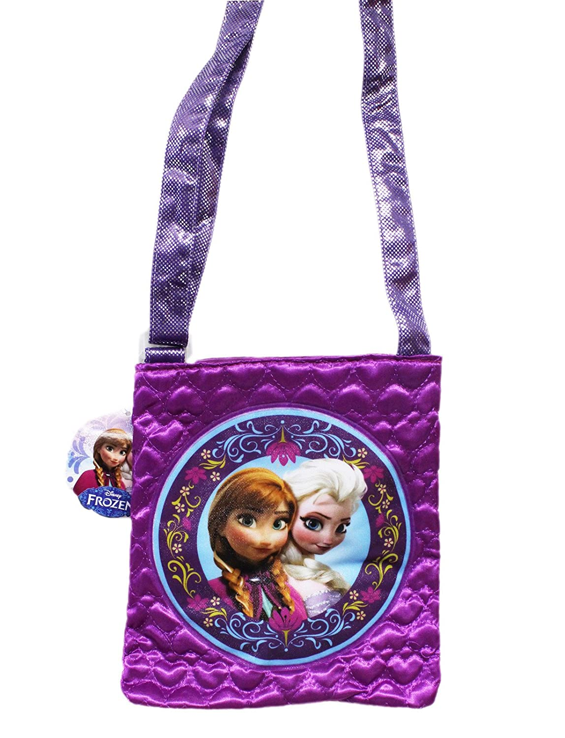Disney Frozen Anna /& Elsa Crossbody Bag brand new