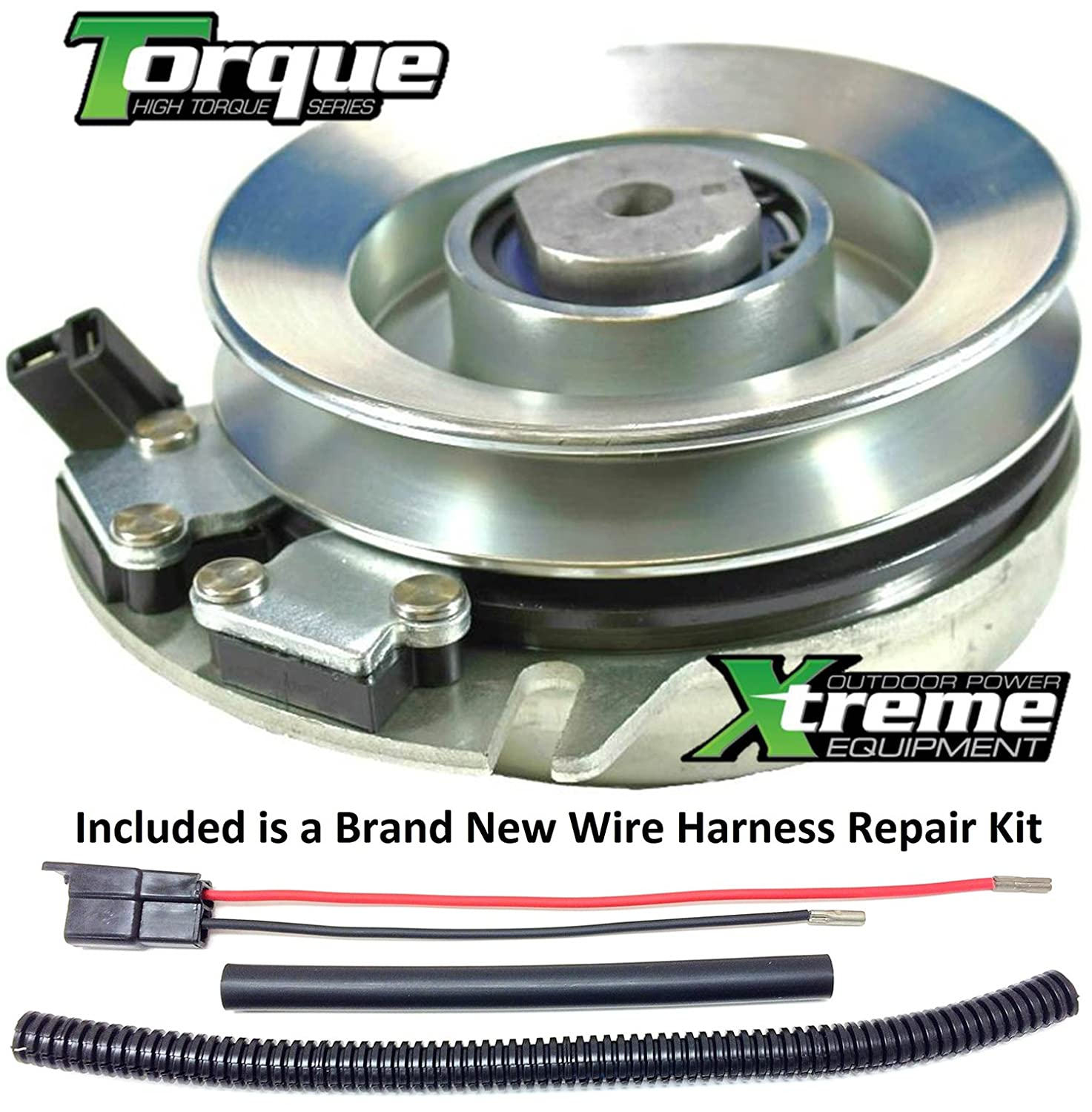 Amazon.com : Bundle - 2 items: PTO Electric Blade Clutch, Wire Harness  Repair Kit. Replaces Gravely Clutch EZR 1340 1440 1540 1640 1648 -w/ Wire  Harness ...