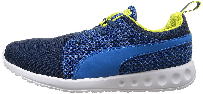 puma carson runner knit chaussures de course hommes