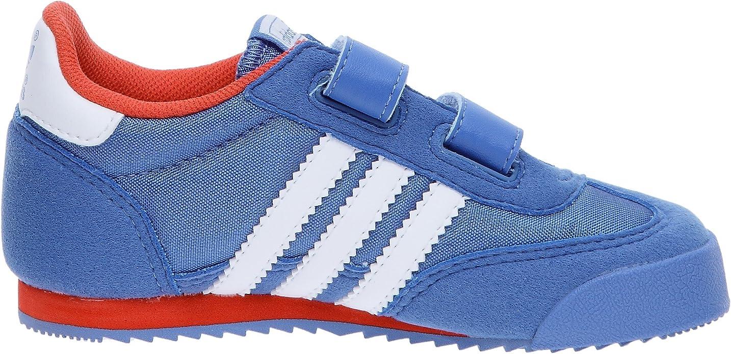 Amazon.com | Adidas Trainers Shoes Kids Dragon Cmf I Nylon Blue ...