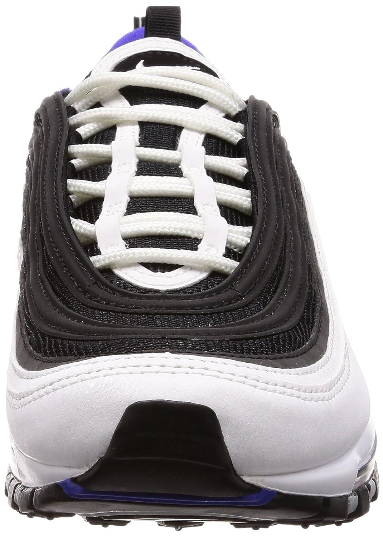 Nike Herren Air Max 97 Sneakers Mehrfarbig (WhiteBlackPersian Violet 103) 45 EU