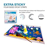 Underwater Disposable Placemats Topper for Table 60 Mats for Children Kids Toddlers Baby Perfect use as Restaurants Place mats BPA Free Eco Friendly Sticks to Table Avoid Germs Fun Keep Neat