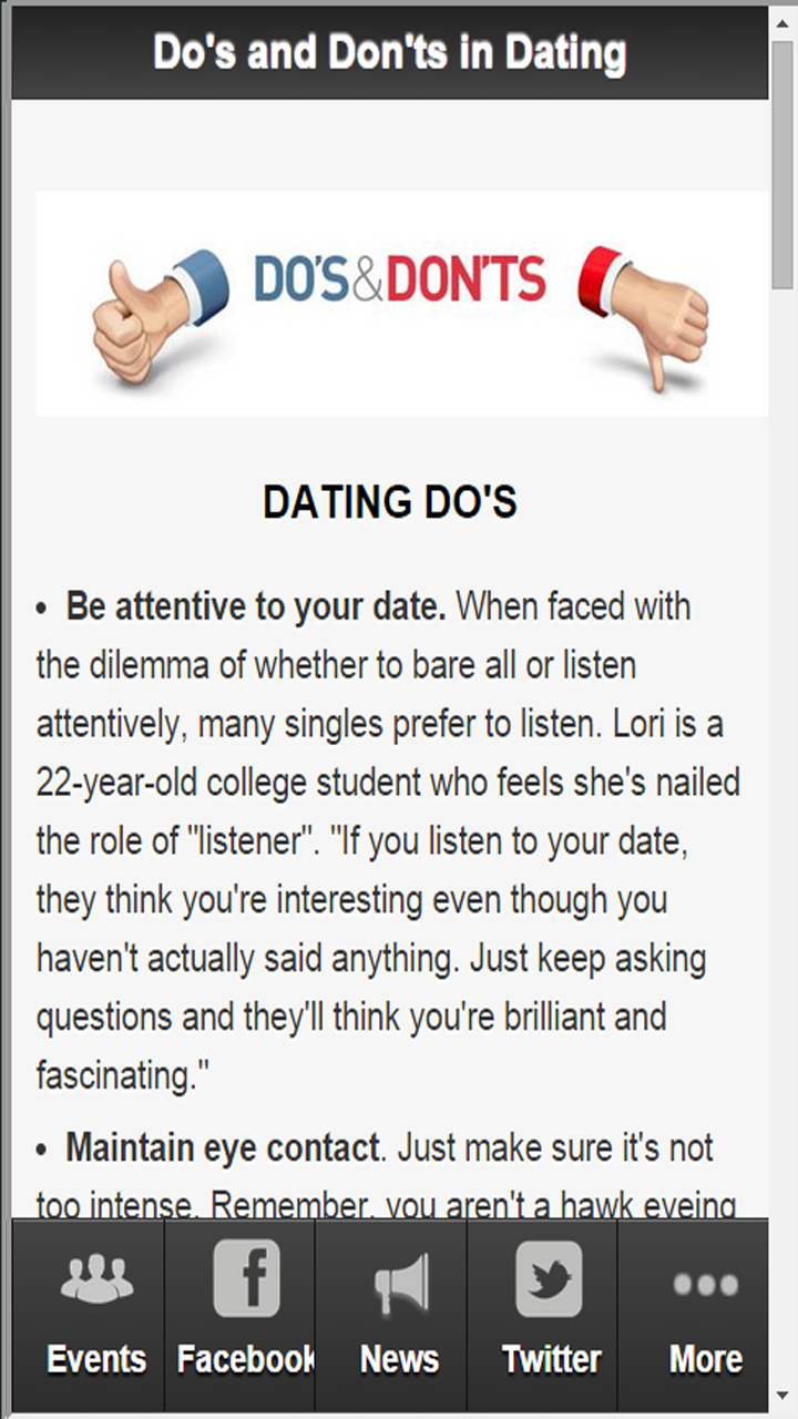 Dating advice for men in Melbourne