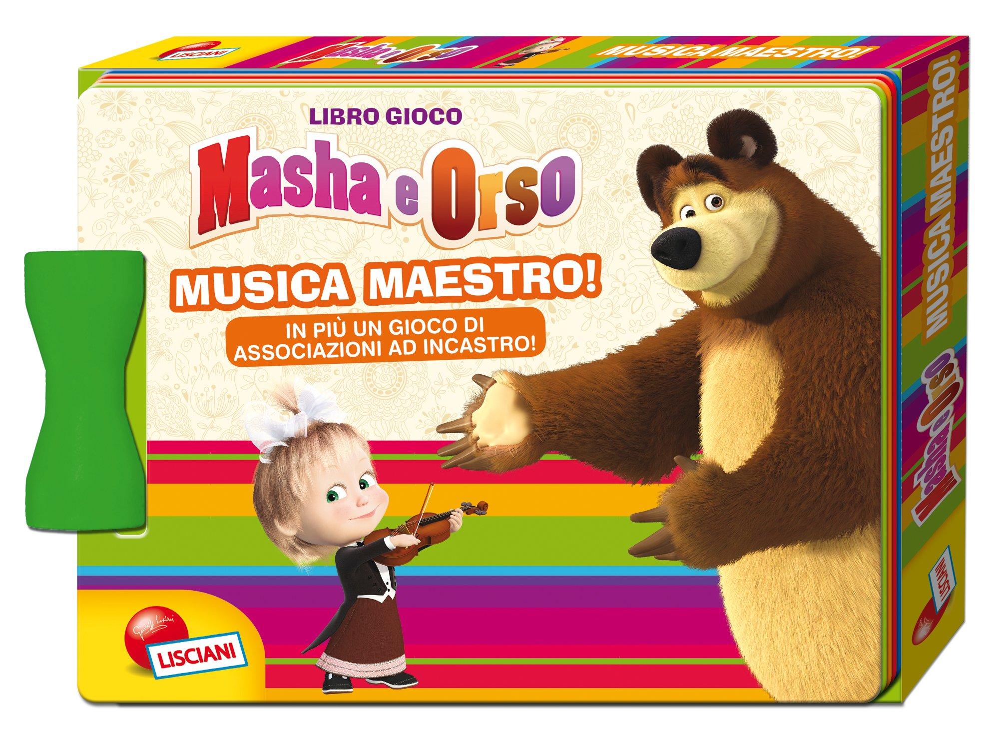 i giocattoli di masha e orso