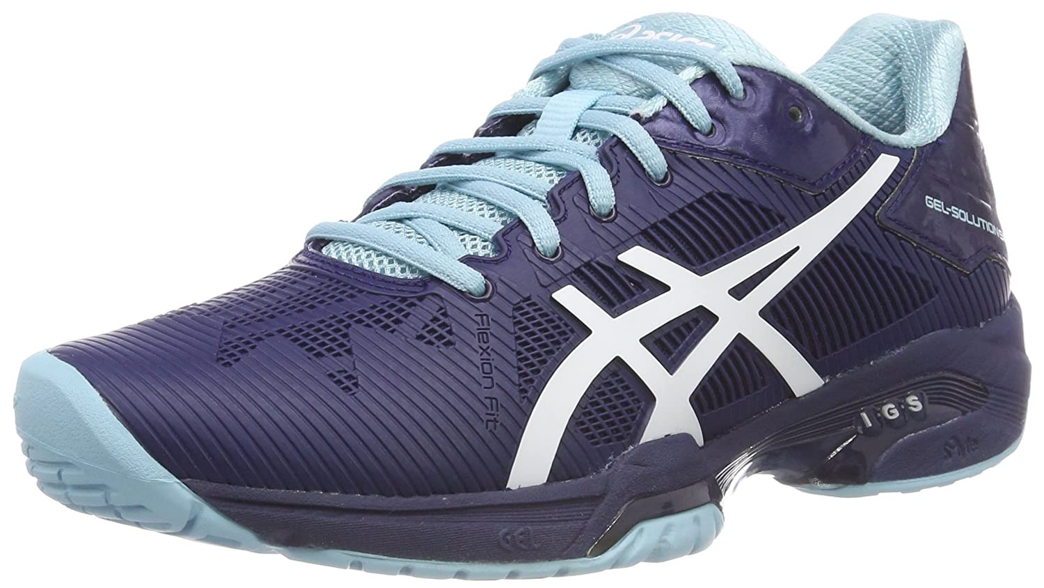 Asics Gel-Solution Speed 3, Chaussures de Tennis Femme E650N