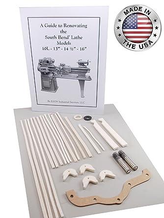 Model 10L /& 10R South Bend Lathe Heavy 10 Rebuild Parts Kit