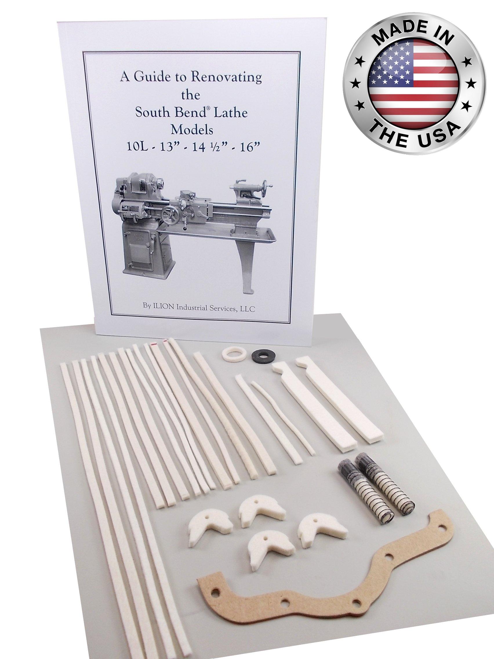 South Bend Lathe Rebuild Kit - Model 10L or 10R ''Heavy 10'' by ILION Industrial Services LLC